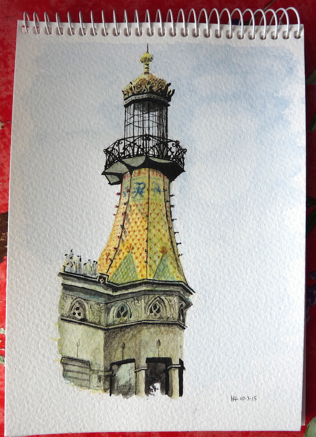 A Tower in Barcelona