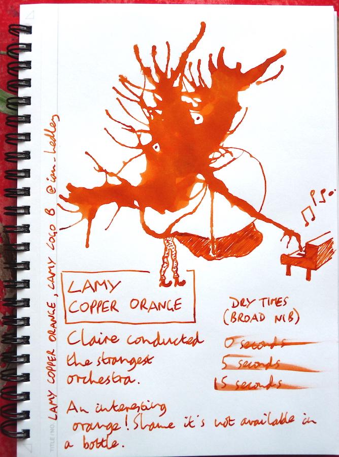 Lamy Copper Orange Inkling