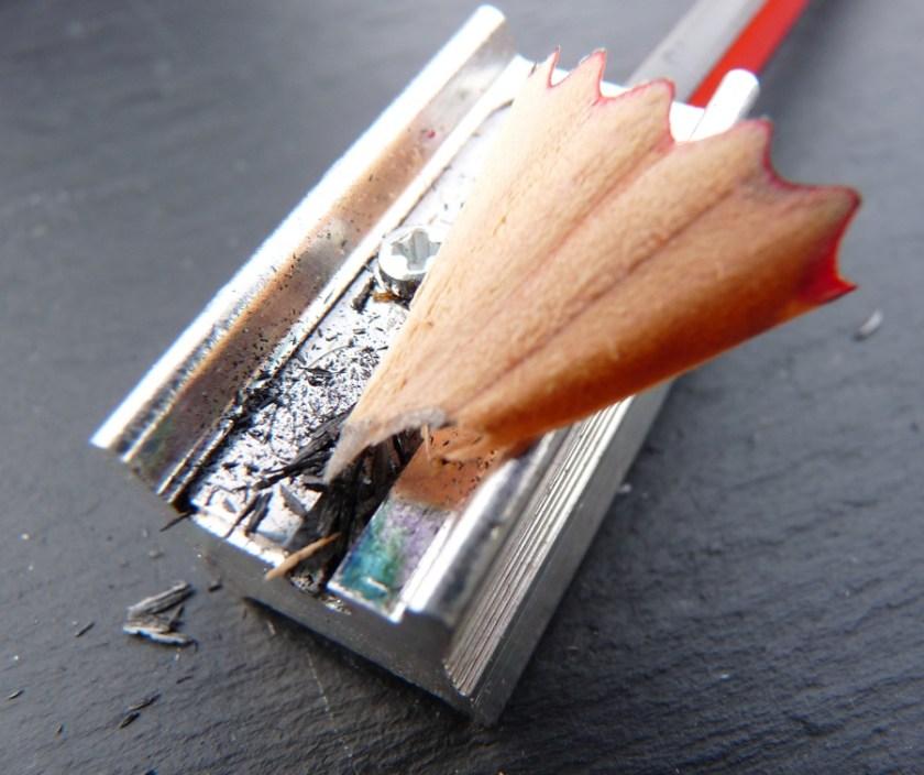 Staedtler Tradition pencil sharpening