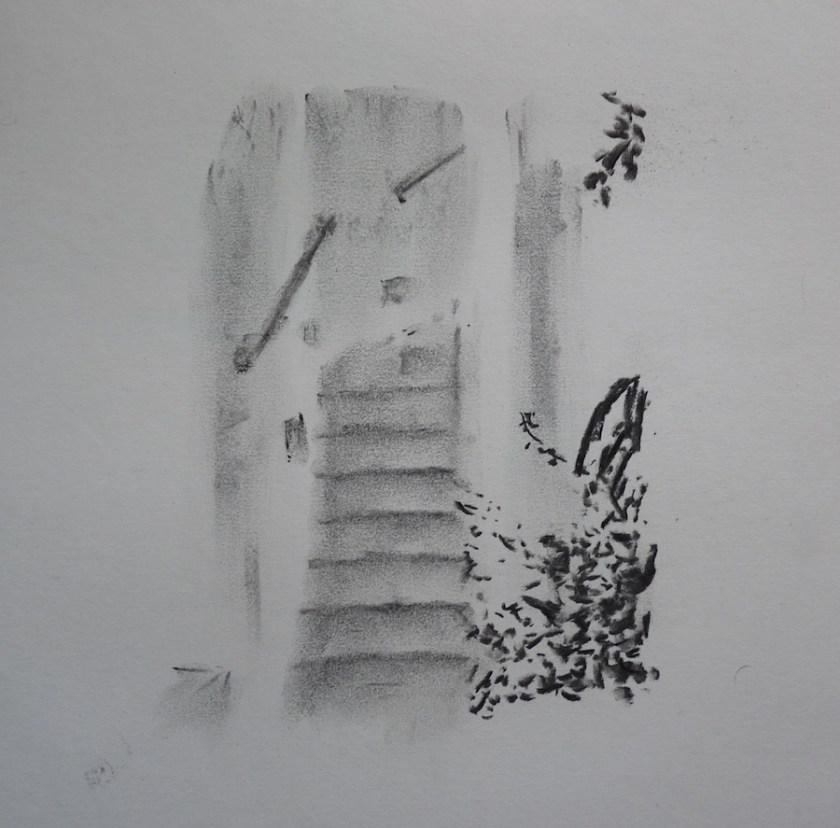 Up the Stairs and Around the Corner