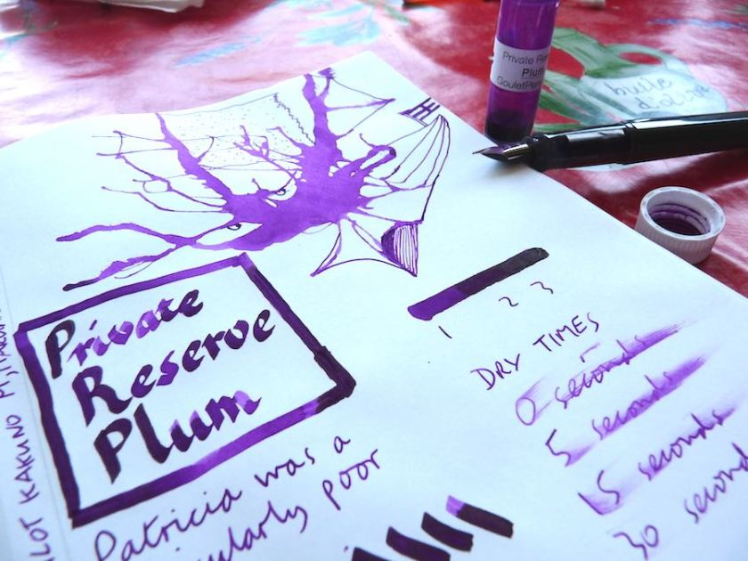 Private Reserve Plum ink review