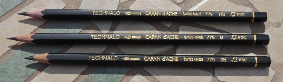 Caran dAche Technalo pencils