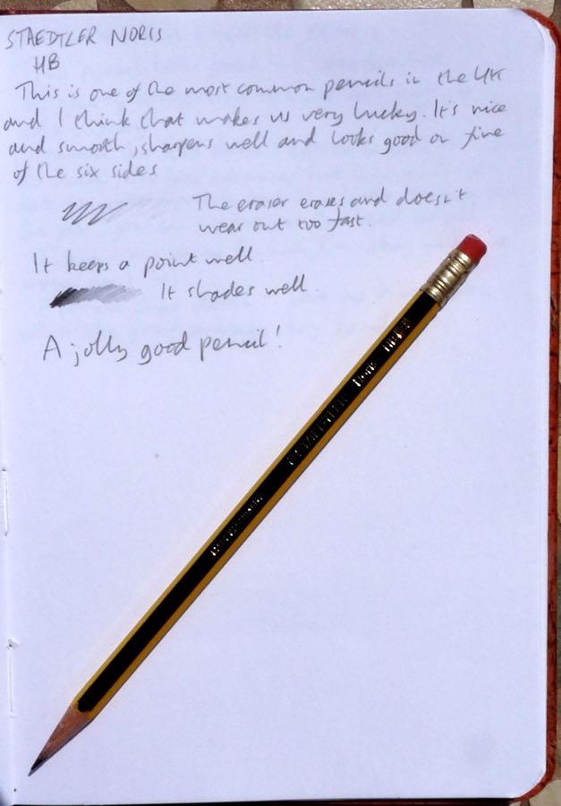 Staedtler Noris pencil handwritten review