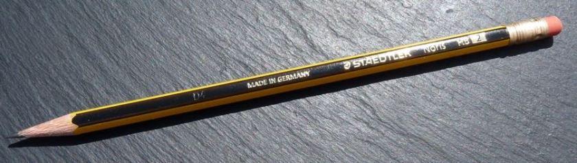 Staedtler Noris pencil pretty branding