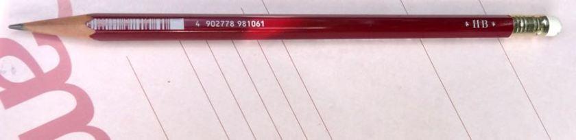 Mitsu-Bishi 9850 bar code side