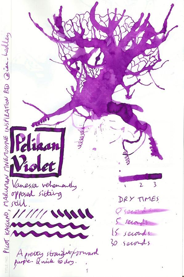 Pelikan 4001 Violet Inkling