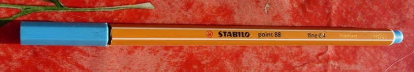 Stabilo Point 88 FIneliner nicely printed side