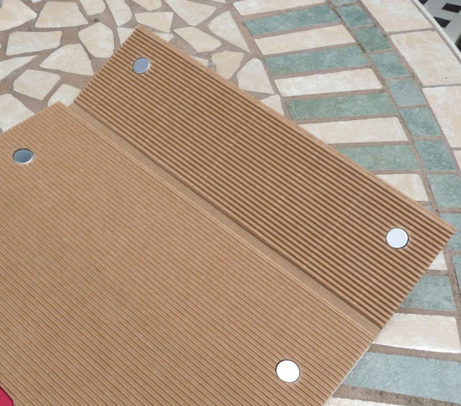 Paper-Oh Ondulo magnetic closure