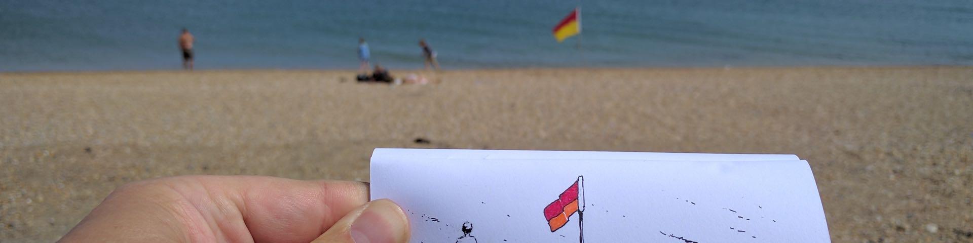 Lifeguard flag featured
