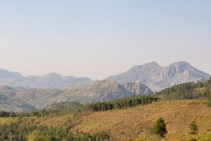 Chimanimani Mountains from Cashel scenic route