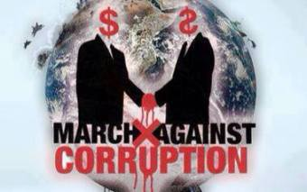 March Against Corruption Election Day 2016
