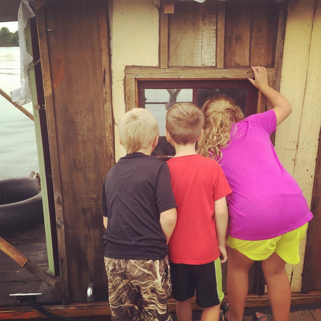 Kids like shantyboats the way they like treehouses