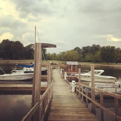 Shantyboat arrives in Huntsville Alabama