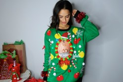 Hairy Ugly Sweater Diy Pepperpout Diy Ugly Sweater Lights Diy Ugly Sweaters Pinterest