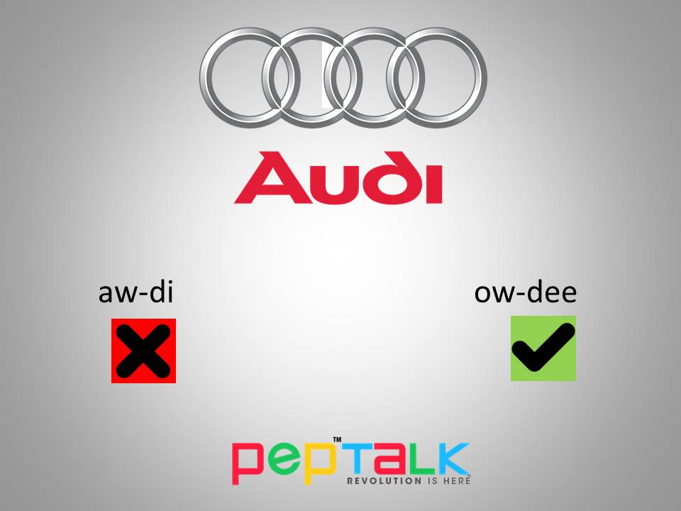 How To Pronounce Audi >> How Do You Pronounce Audi Best Car Update 2019 2020 By Thestellarcafe