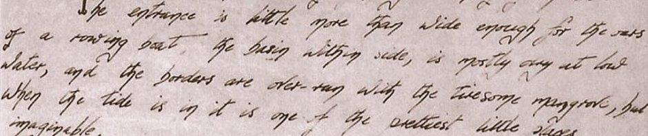 Matthew Flinders Journal  Naming the Percy Isles