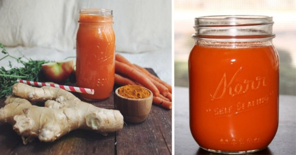 THE ULTIMATE GINGER-TURMERIC-CARROT JUICE TO REPLACE YOUR PAIN AND INFLAMMATION MEDS
