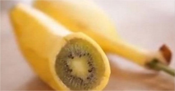 AMAZING : Here's How to Grow a Banana which is Kiwi on the Inside! (Video)