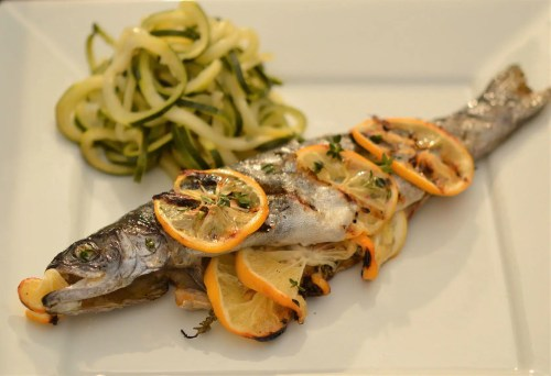 Medium Of Grilled Trout Recipes