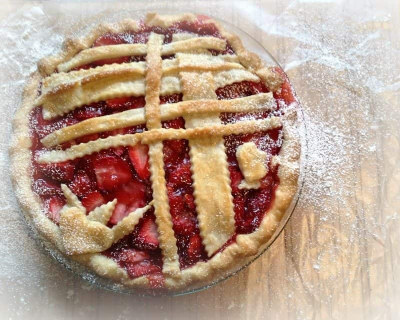 Strawberry Pie | A Little Magic Mixed with Joy
