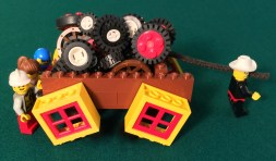 Square Wheels image using LEGO by Scott Simmerman