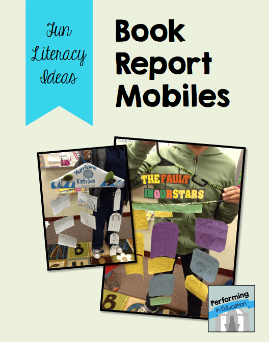 mobile book report hanger