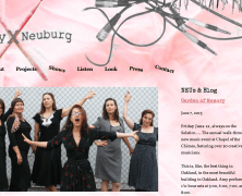 Amy X Neuburg Homepage