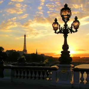 bittersweet paris sunset