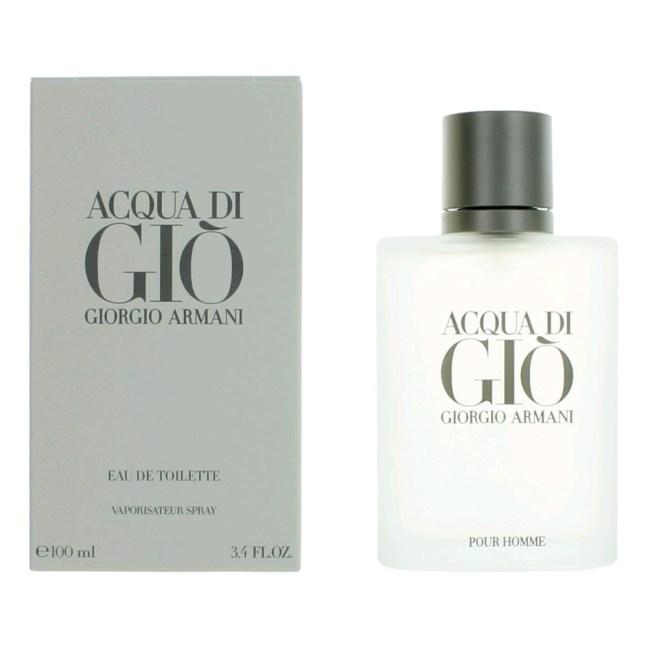 Acqua Di Gio by Giorgio Armani, 3.4 oz Eau De Toilette Spray for men