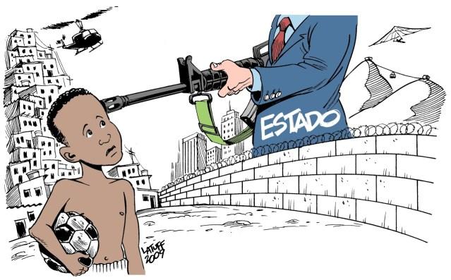 Charge: Carlos Latuff