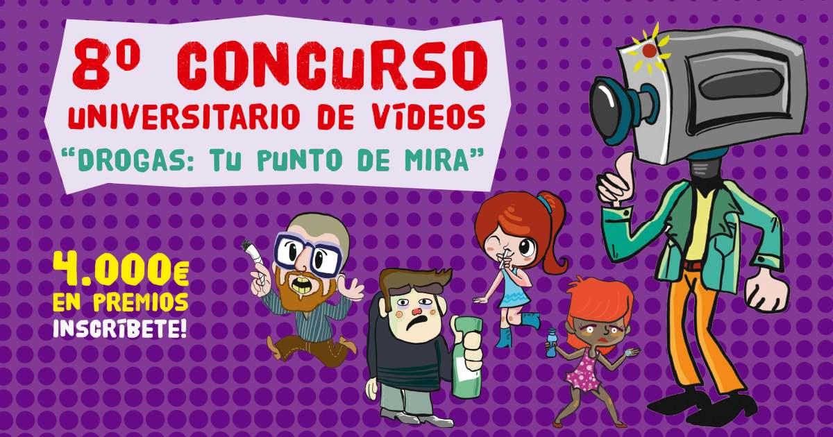 8è Concurs de vídeos Drogues: El teu punt de mira