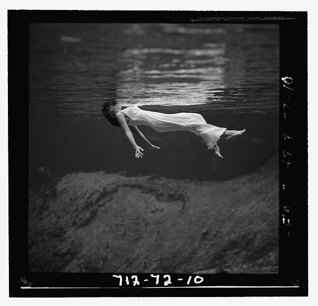 Weeki Wachee spring, Florida, Toni Frissell (source: Library of Congress)