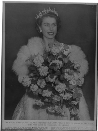 The Royal Tour of Australasia, Princess Elizabeth (www.slv.gov.au)