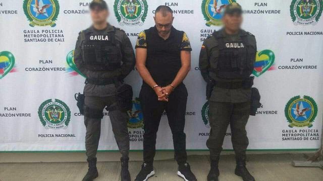 "A alias ""Largo"" capturado en cali le achacan 117 homicidios"