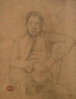 Degas: Achille De Gas, 1853