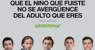 Greenpeace: Rajoy niño quería ser presidente para proteger las playas