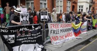 Ecuador limita internet de Assange por filtraciones de Wikileaks
