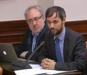 Pablo Martín, diputado del PSOE que presentó la iniciativa no parlamentaria sobre el ajedrez en el Congreso en 2015.