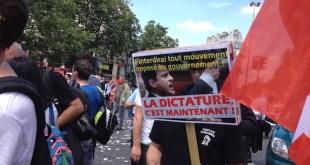 París: los sindicatos cercados por los antidisturbios