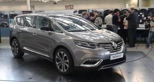 Renault Espace V y Talismán a revisión