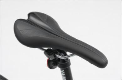 Lightweight saddle