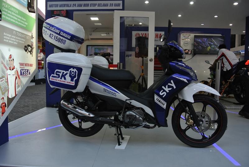 Enggak Sempat Ke Bengkel Resmi Yamaha? Tenang Cukup Telepon SKY, Motor Siap Service Ditempat!