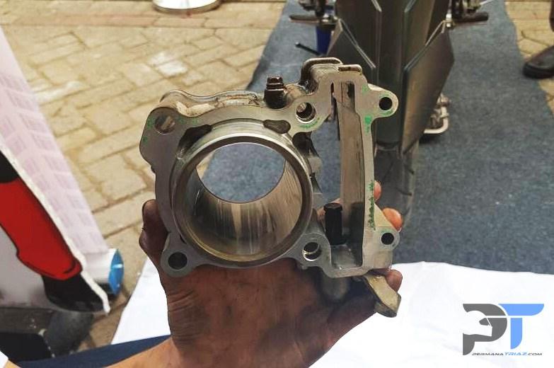 Penampakan DiASil Cylinder masih mulus setelah dipakai 51.000KM
