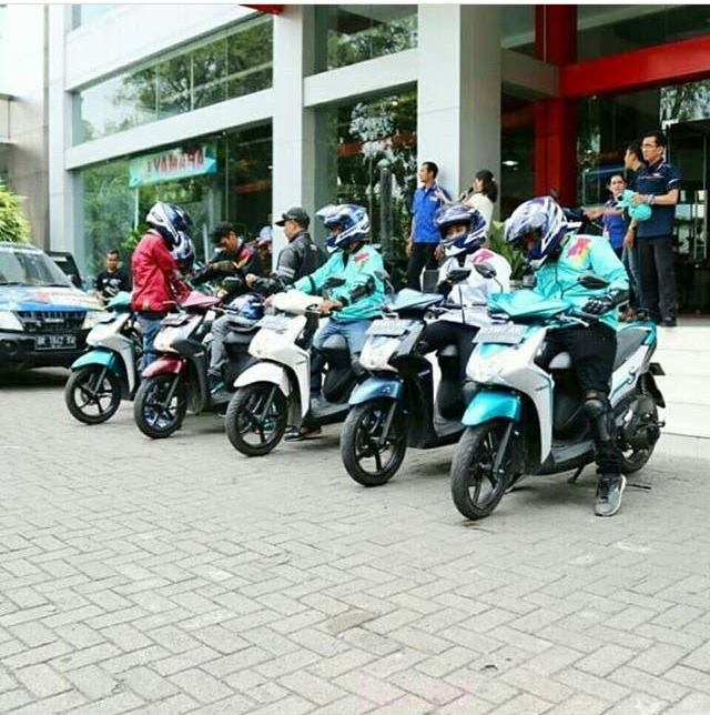 Touring Nonstop Yamaha Mio S Sampai
