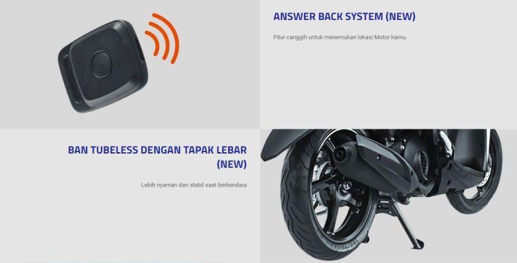 Fitur Answer Back Skutik Terbaik 2018 Yamaha Mio S
