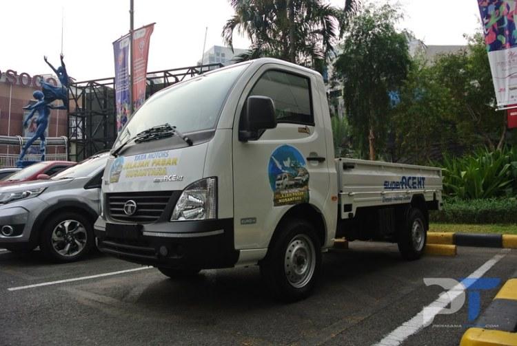 Ini Mobil Tata Motors Jelajah Pasar Nusantara 2018