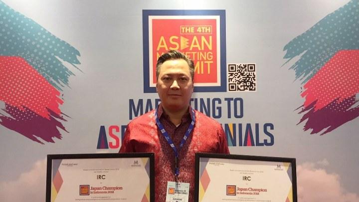 IRC Raih Penghargaan AMS 2018, 2 Kategori di Sapu Bersih!