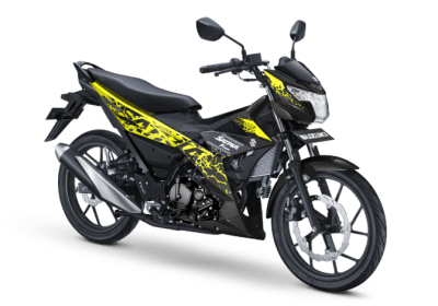 Warna baru all new satria f150 2018