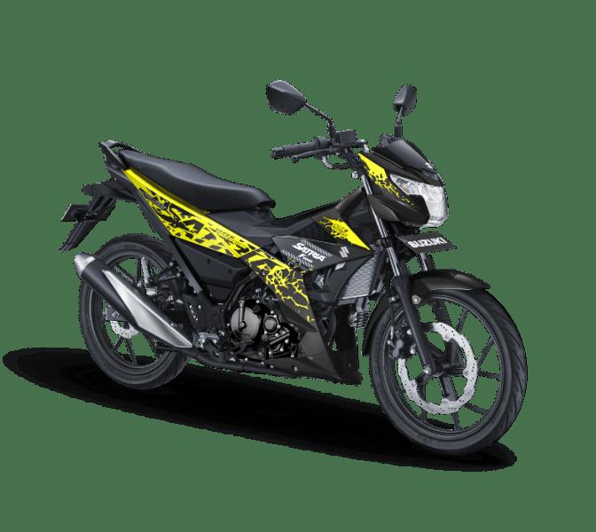 Warna Baru All New Satria F150 2018: yang Kuning Paling Ngejreng!
