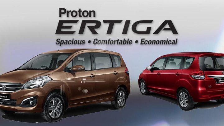 Di Malaysia Enggak Ada Suzuki Ertiga, Adanya Proton Ertiga